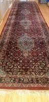 Csodás Kézi csomózású Perzsa futó szőnyeg