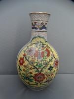 Japán váza. Gyönyörű nagy szépen kidolgozott jelzett