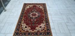 Új Békésszentandrási 91x162 kézi gyapjú perzsa szőnyeg MM_133
