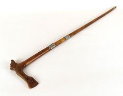 1B970 Havasi gyopár díszes rókafejes fokos cserkész fokos 87 cm