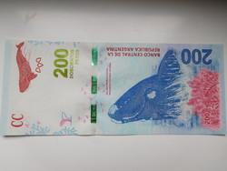 Argentina 200 pesos 2016  UNC