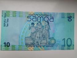 Szamoa  10 tala  2008 UNC