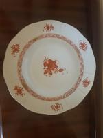 2 db Herendi Apponyi lapos tányér, átmérő 25,5 cm