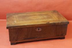 Intarziás fa doboz / ékszertartó ládika - nagy méretű