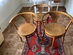 3 db. karfás Thonet szék
