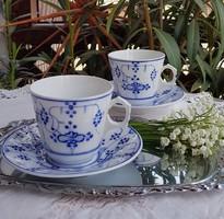 Sarreguemines csésze szett