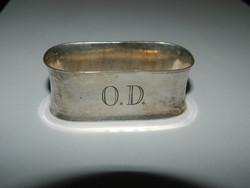 Antik ezüst szalvéta tartó