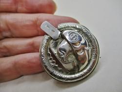 Szép régi iparművész ezüstmedál