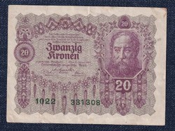 Ausztria 20 Korona 1922 (id11032)