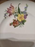 Drasche csodás virágos tányér
