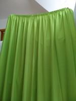 Eladó zöld sötétítő függöny 4 db: egyenként 220 cm magas 285 cm széles