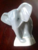 Zsolnay : Szürke elefánt, régi