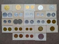 23 db-os ritka érme lenyomat a háború előtti időkből. (id36549)