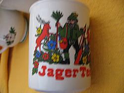 Vadászos Jager Tee bögre