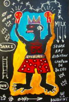 Jean Michel Basquiat: Expresszív figura