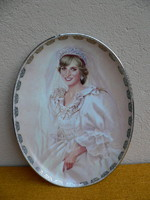Diana hercegnő falitányér