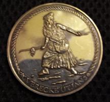 Verecke útján Magyarország millecentenárium 1996 ezüstözött emlékérem