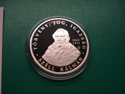 Ezüst 5000 forint 2015 PP Széll Kálmán