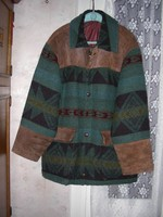 Férfi gyapjú kabát