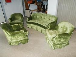 Antik Jugenstil nappali ülőgarnitura