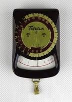 1C061 Régi EAW FOTOLUX optikai megvilágításmérő fénymérő bőr tokjában