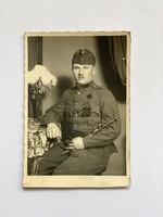 II. vh. Fotó  ( képeslap méret! )