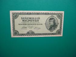 100 millió milpengő 1946 Extraszép!