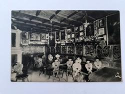 Régi képeslap 1909 Bozen Batzenhäusl étterem vendéglő