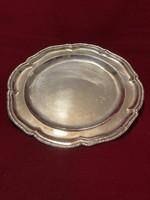 Ezüst Tál/ Tányér! Antik/1800- as évek/ súlya 484 gram!