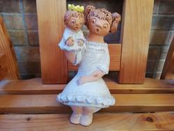 Antalfiné Szente Katalin Anya Gyermekével