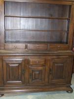 Könyves szekrény tömör tölgyfa
