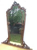Reneszánsz faragott tükör