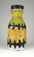 1C001 Régi Gorka Lívia kerámia váza 20 cm
