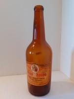 Retro címkés kakaó likőrös palack Cacao Chouva üveg