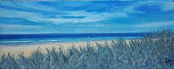Coastal View - Oil Pinting