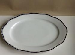 Régi cseh ovális kínáló ,húsos tányér, 44 x 30,5 cm