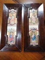 2db egyházi nyomat, ikon 50x20cm.Alkudható!!