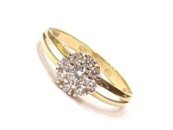 Arany női gyűrű (Szeg-Au93068)