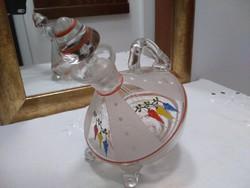 Kézzel készített huta üveg kiöntő különlegesség