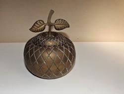 Réz alma formájú bonbonier csodás