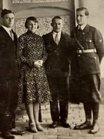 Régi katona fotó csoportkép fénykép