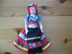 Matyo girl, 22 cm. Old.