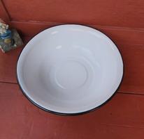 40 cm-es fehér  zománcos lavór  ,nosztalgia darab