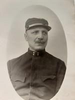 Régi fotó katona fénykép