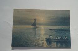 Ritka gyűjteményi képeslapok, Balaton Siófok 1912