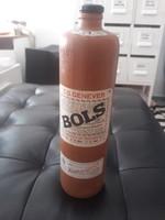 """Pálinka aromazáró tárolására agyag palack, holland """"Bols"""" jelzés"""