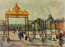 1C018 Marius Girard : Versailles le Chateau