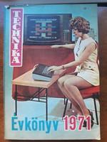 Retro műszaki érdekesség: Technika évkonyve 1971.
