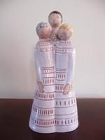 Berkovits Anna kerámia három nővér