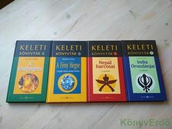 Keleti könyvtár 1-4. (Az özvegyégetés, A Fény Hegye, Nepál harcosai, India oroszlánjai)